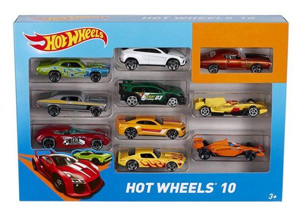 Auto Hot Wheels Confezione Da 10 Veicoli Assortiti Mattel 54886